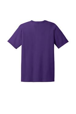Purple Custom Tee Back