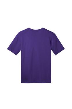 Back Front Custom Tee Shirt Purple