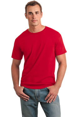 Red T-Shirt Model Front