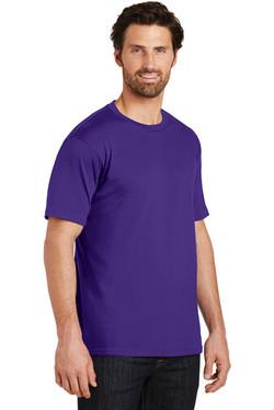Side Custom Tee Shirt Purple
