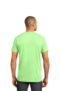 Key Lime Custom Tee Model Back