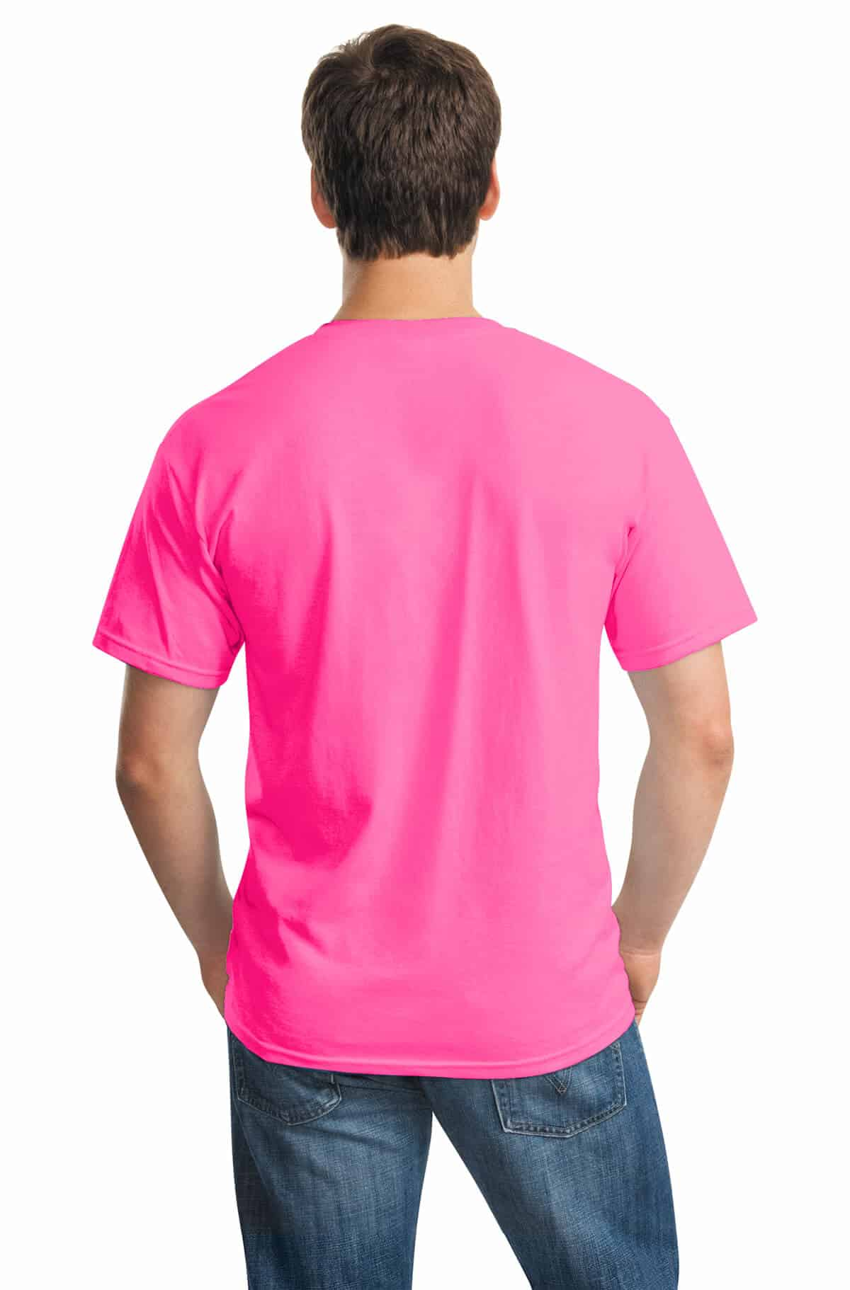 Safety Pink Tee Back