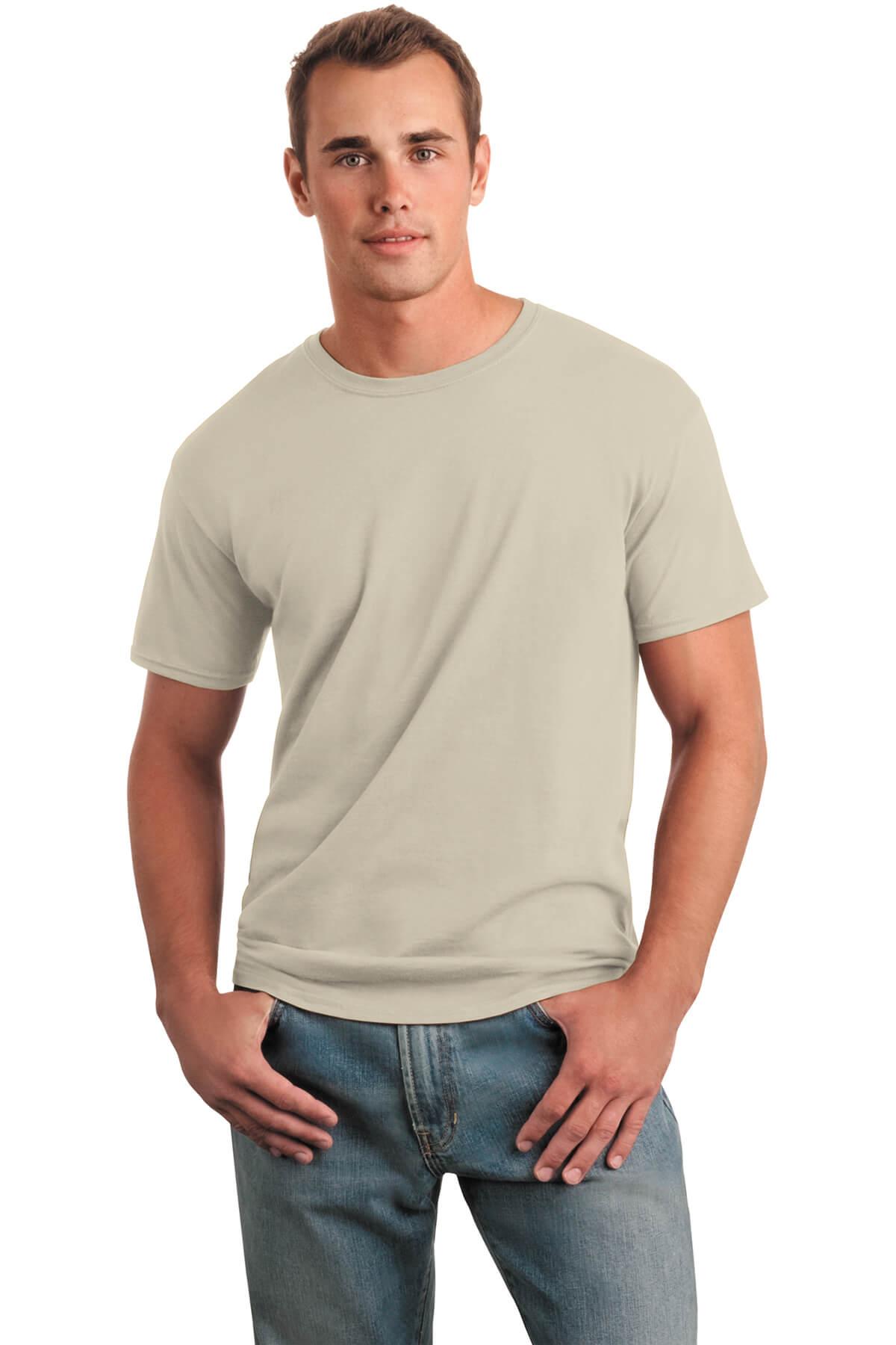 Sand T-Shirt Model Front
