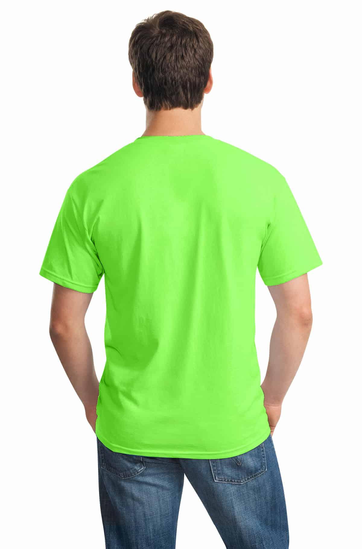 Neon Green Tee Back