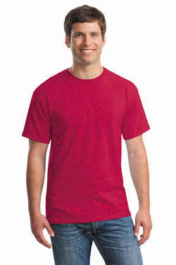 Heather Red Tee Front