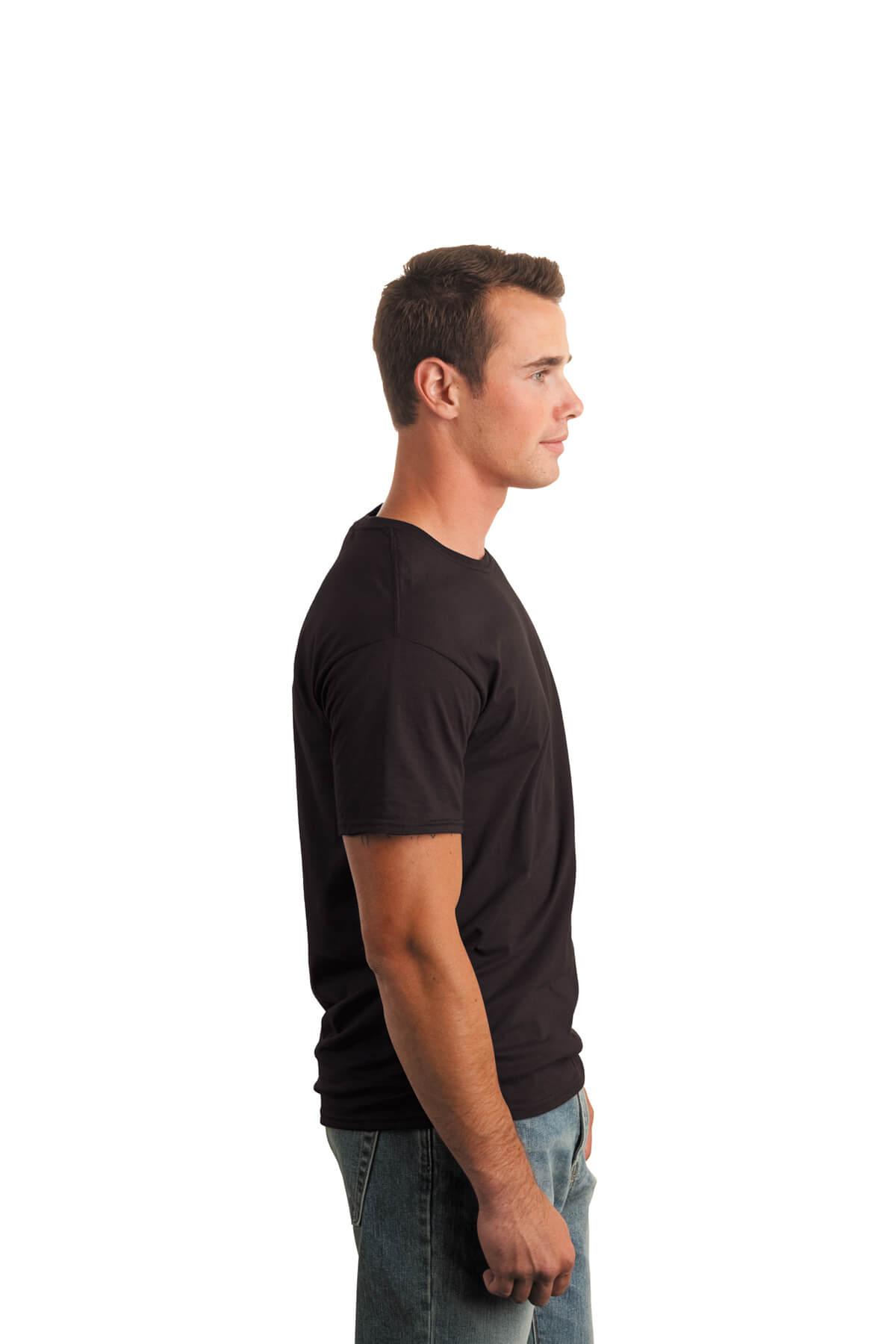 Dark Chocolate T-Shirt Model Right