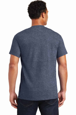 Heathered Navy TeeShirt Back