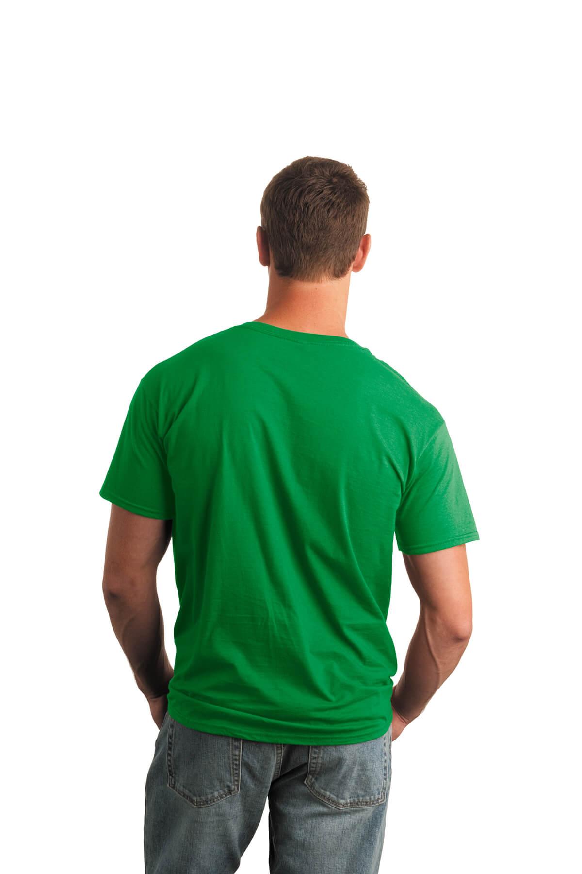 Irish Green T-Shirt Model Back