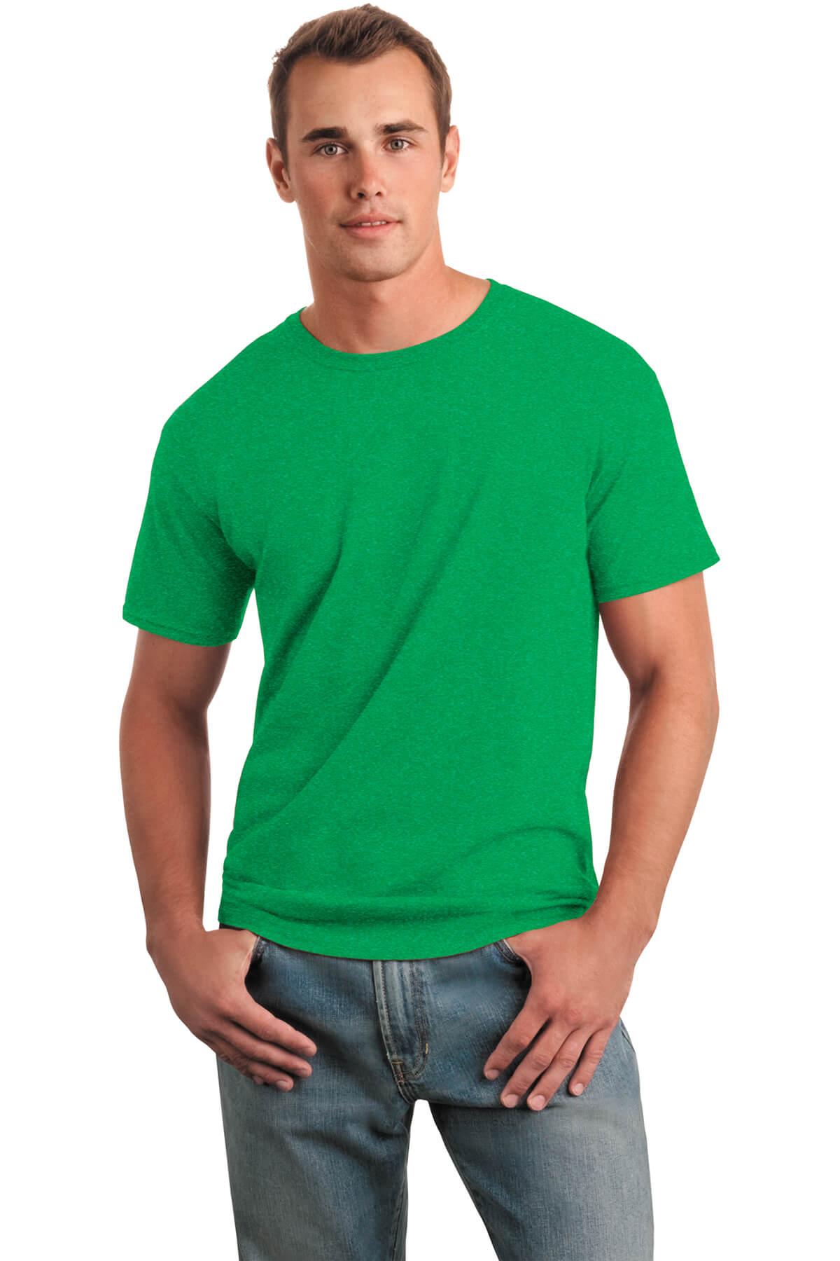 Irish Green T-Shirt Model Front