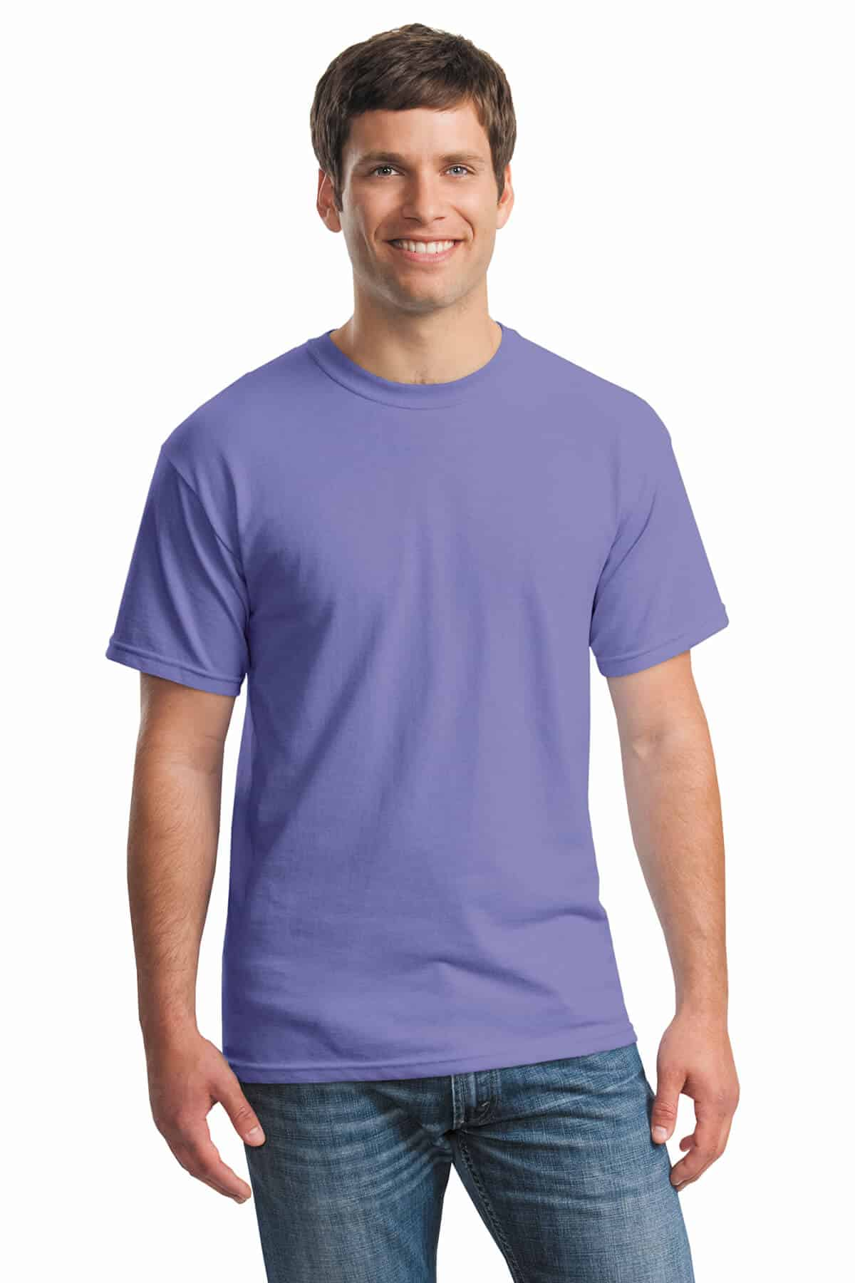 Violet Tee Front