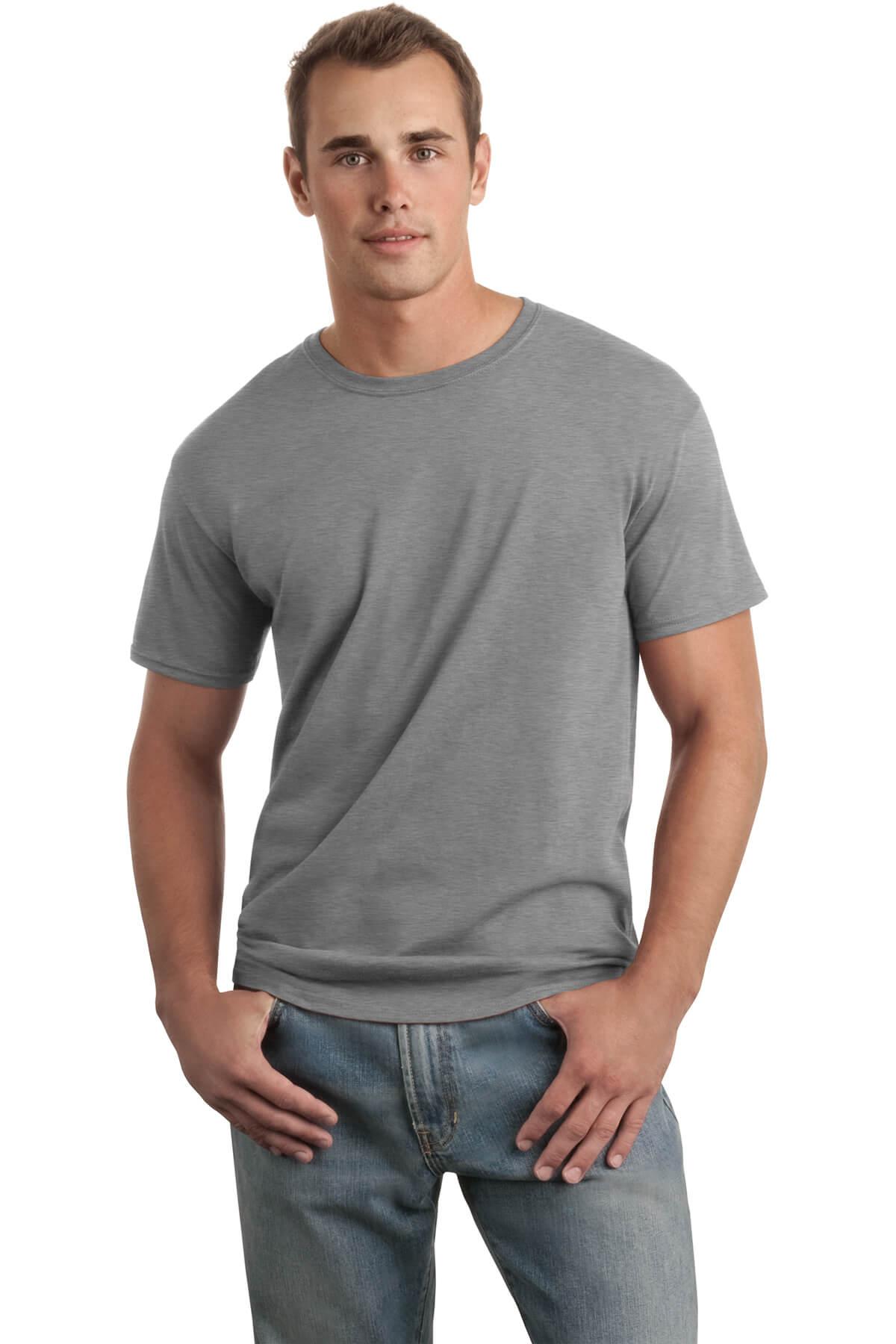 Sport Grey T-Shirt Model Front