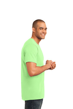 Key Lime Custom Tee Model Right