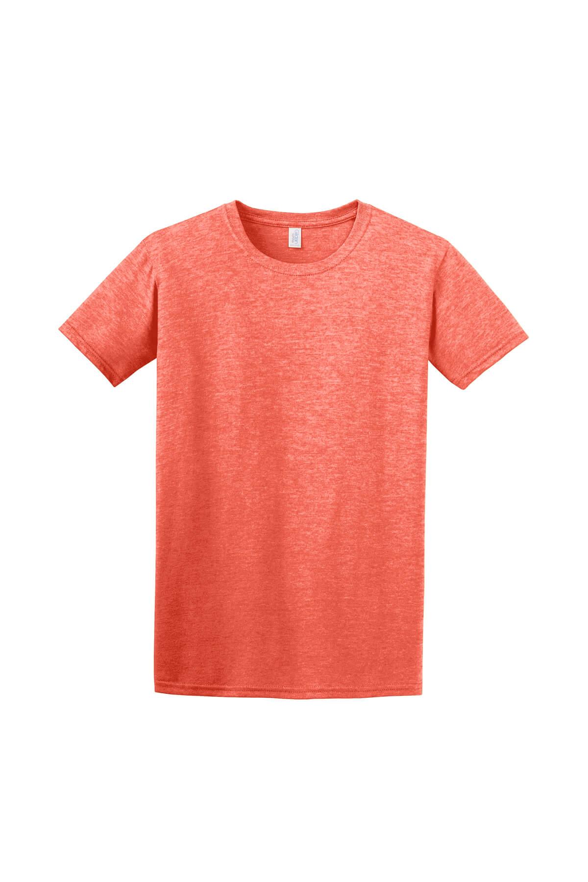 Heather Orange T-Shirt Front