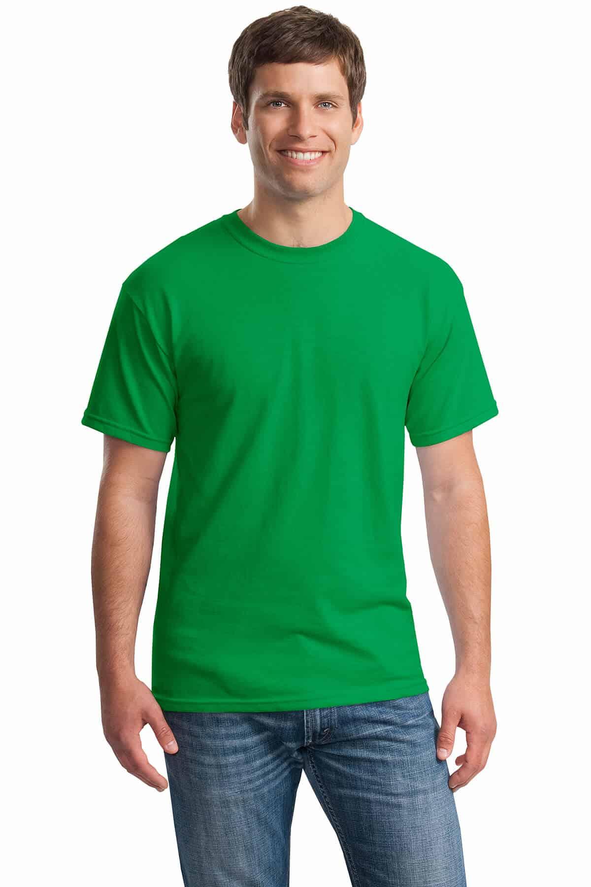 Irish Green Tee Front