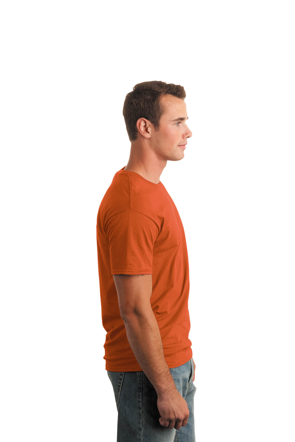Orange T-Shirt Model Right