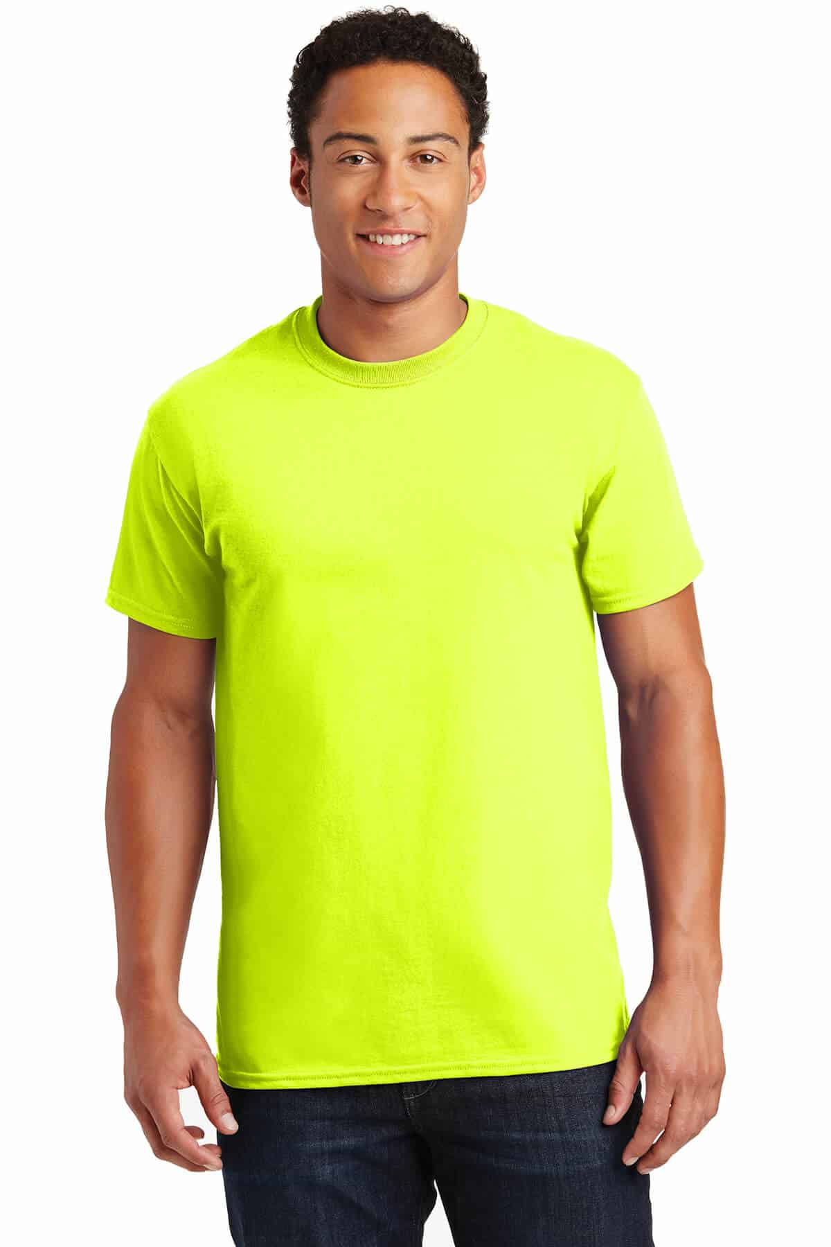 Safety Green Teeshirt Front