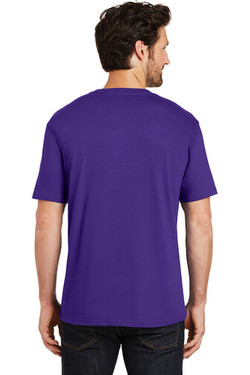Back Custom Tee Shirt Purple