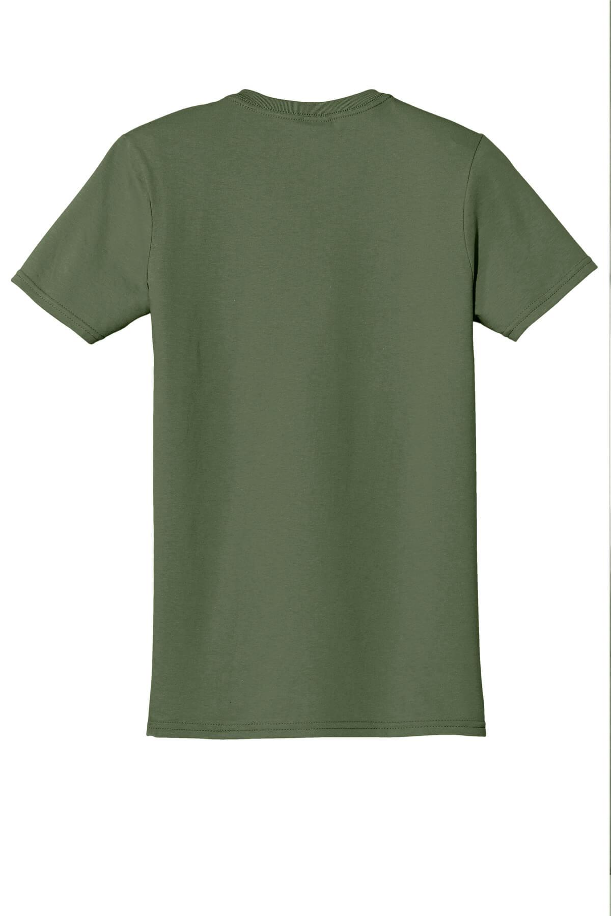 Military Green T-Shirt Back