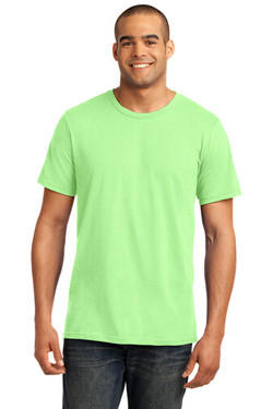 Key Lime Custom Tee Model Front