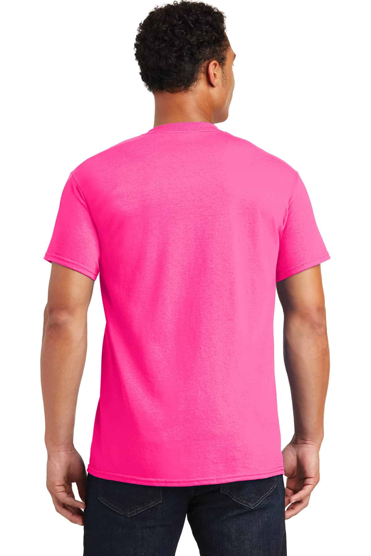 Safety Pink Teeshirt Back