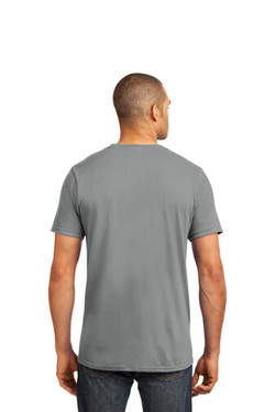 Storm Grey Custom Tee Model Back