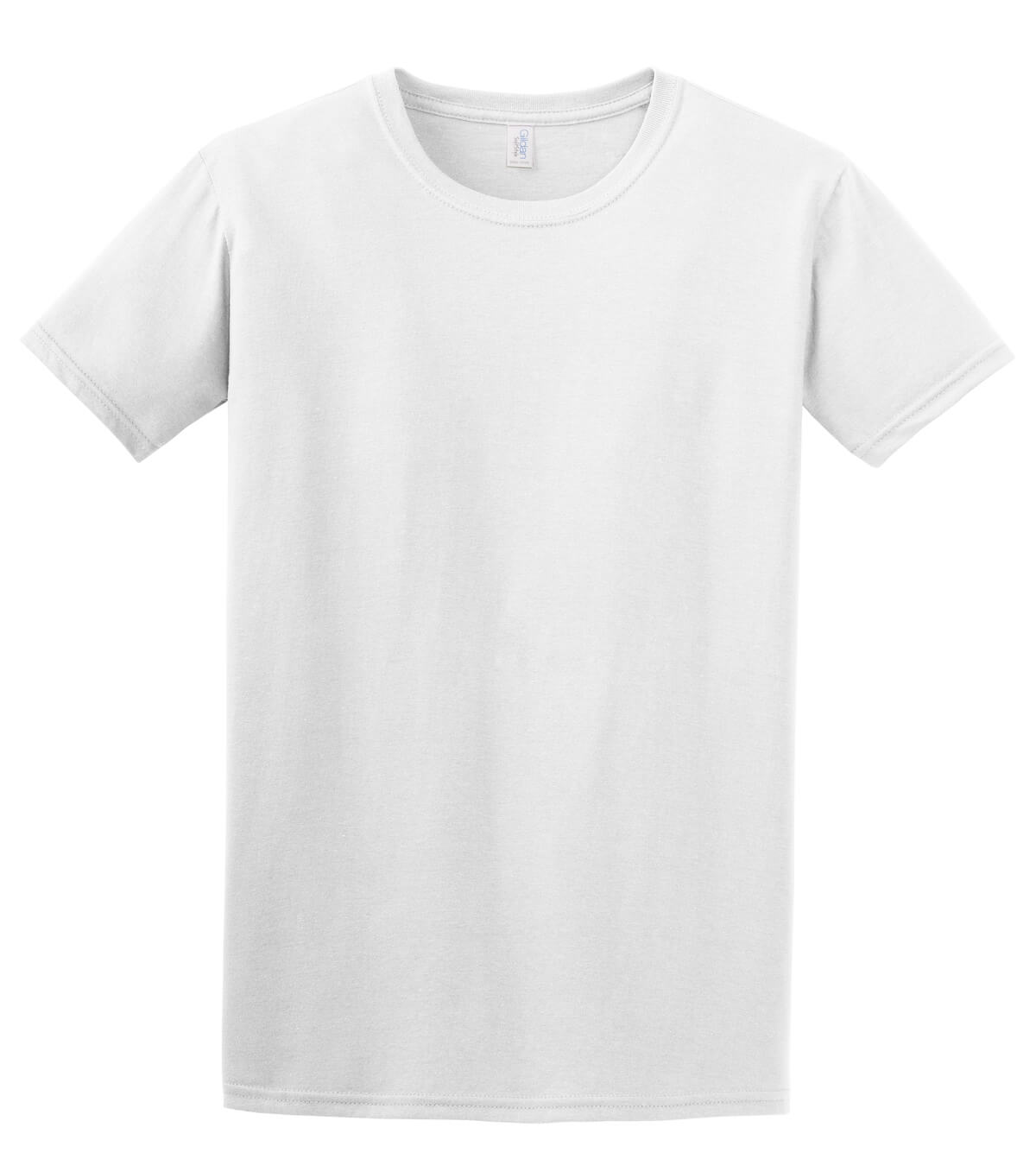 White T-Shirt Front