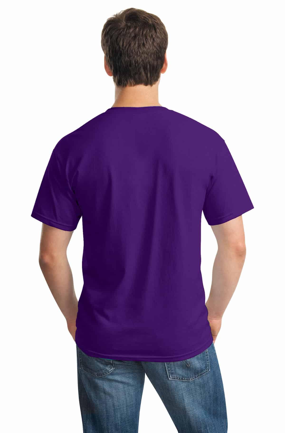 Purple Tee Back