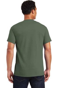 Military Green TeeShirt Back