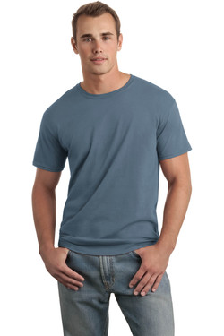Indigo Blue T-Shirt Model Front