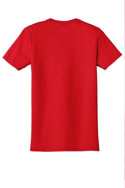 Cherry Red T-Shirt Back