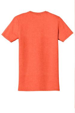 Heather Orange T-Shirt Back
