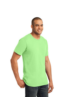 Key Lime Custom Tee Model Side