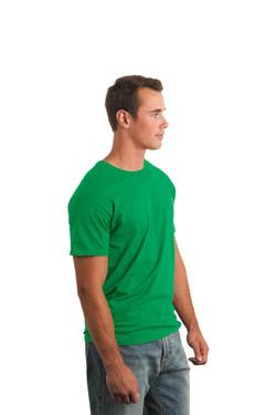 Irish Green T-Shirt Model Side