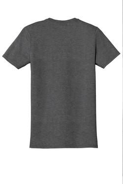 Dark Heather T-Shirt Back