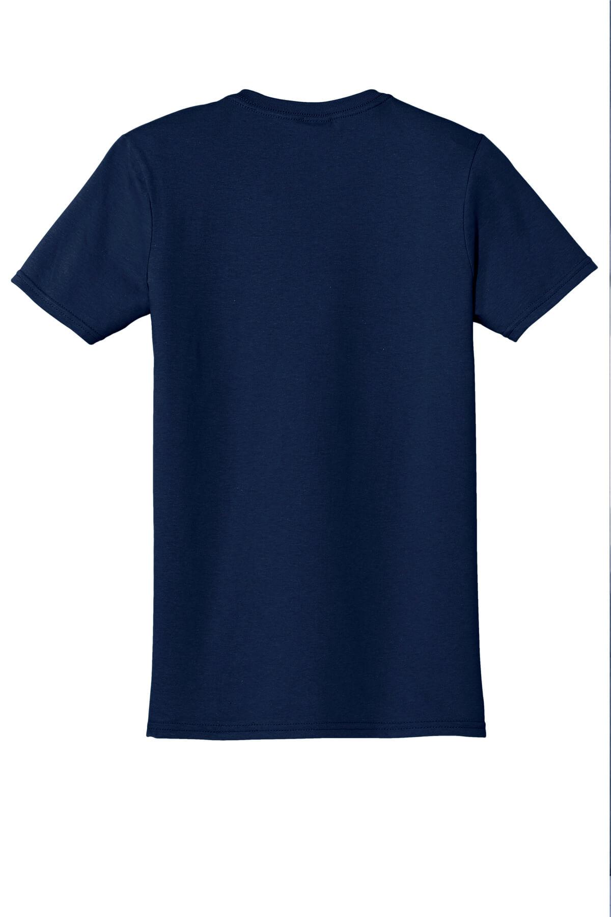 Navy T-Shirt Back