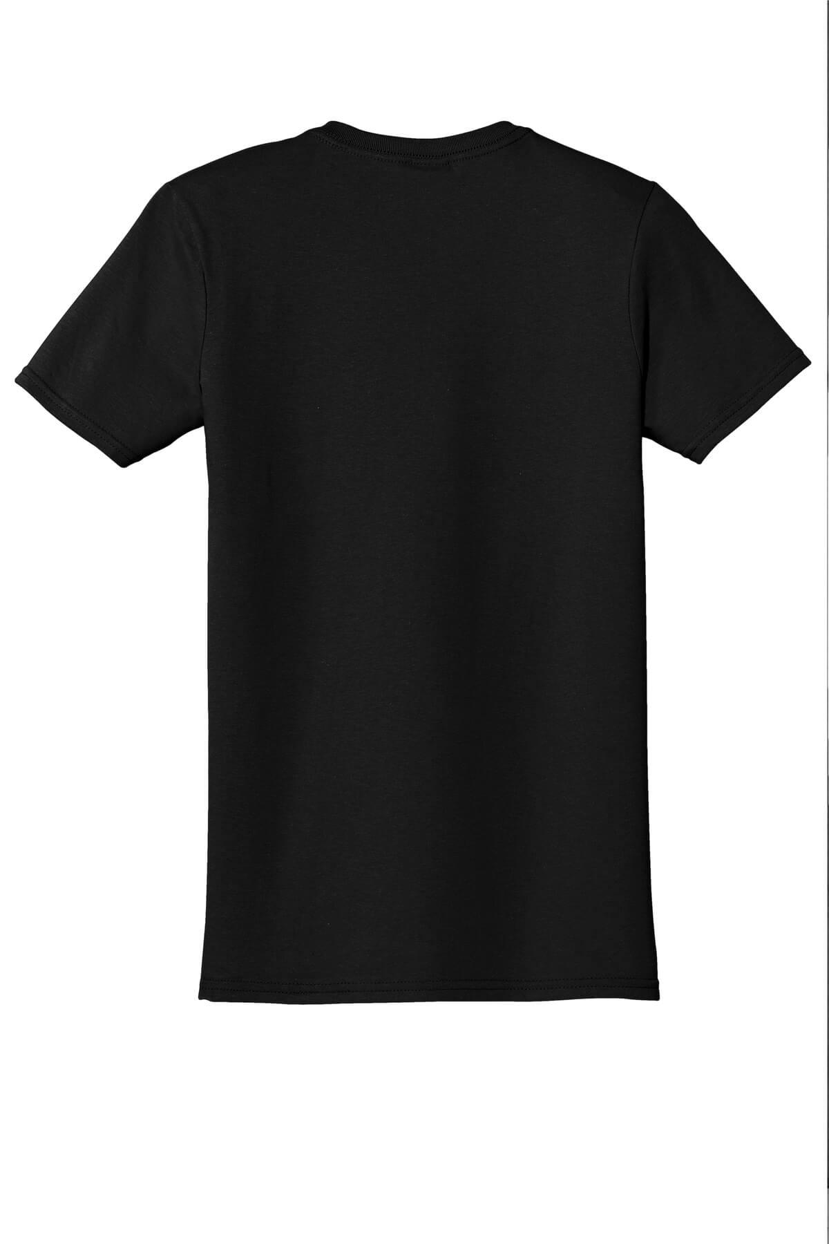 Black T-Shirt Back