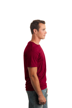 Cardinal Red T-Shirt Model Right