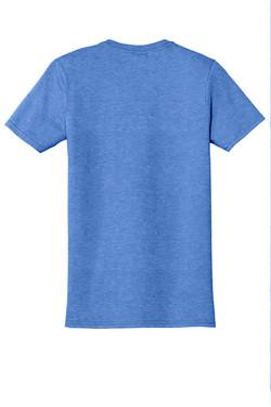 Heather Royal T-Shirt Back