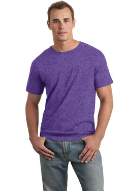 Heather Purple T-Shirt Model Front