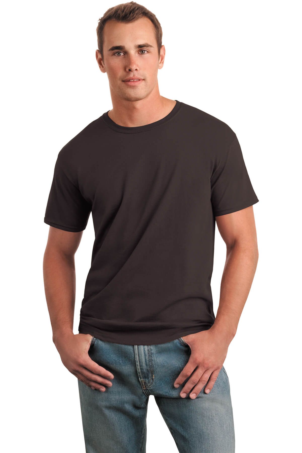 Dark Chocolate T-Shirt Model Front