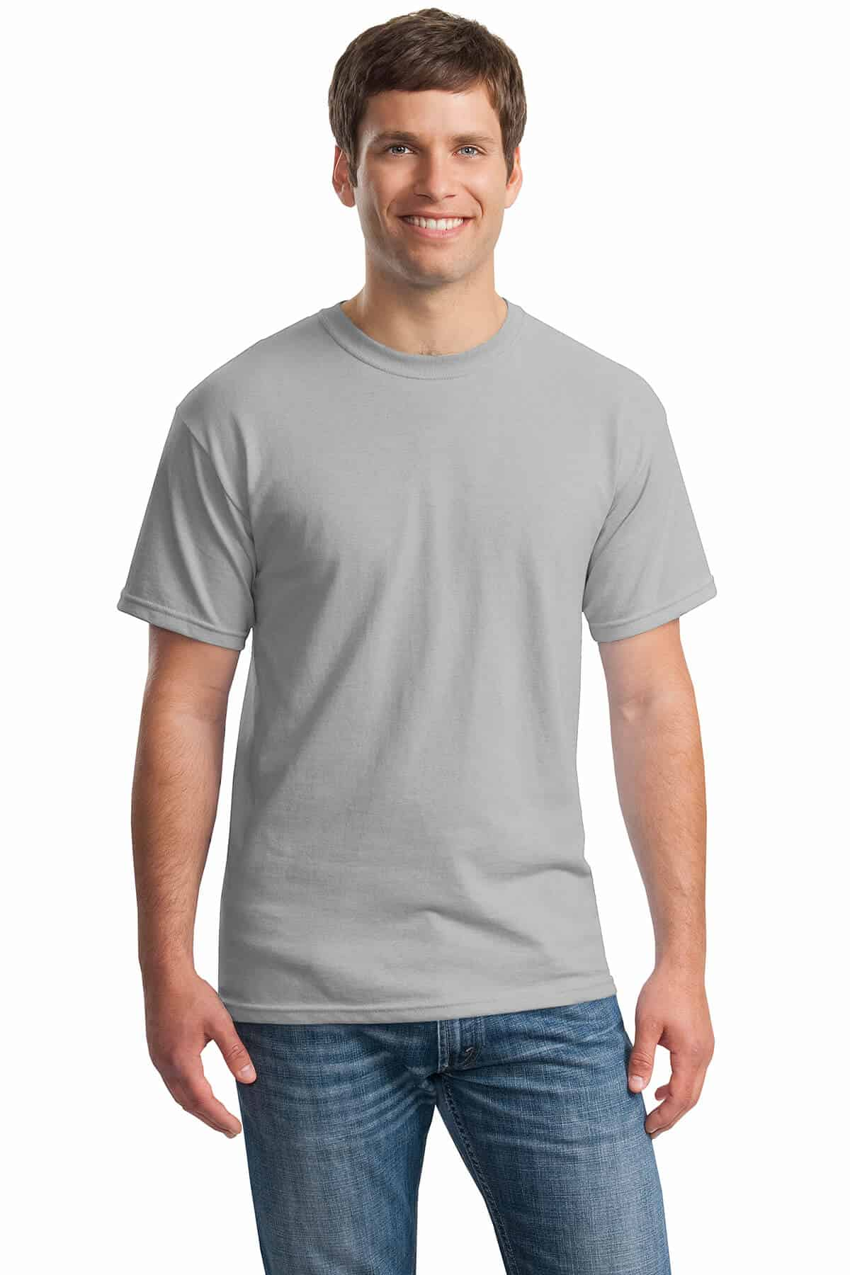 Ice Grey Tee Front