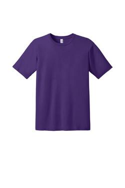 Purple Custom Tee Front