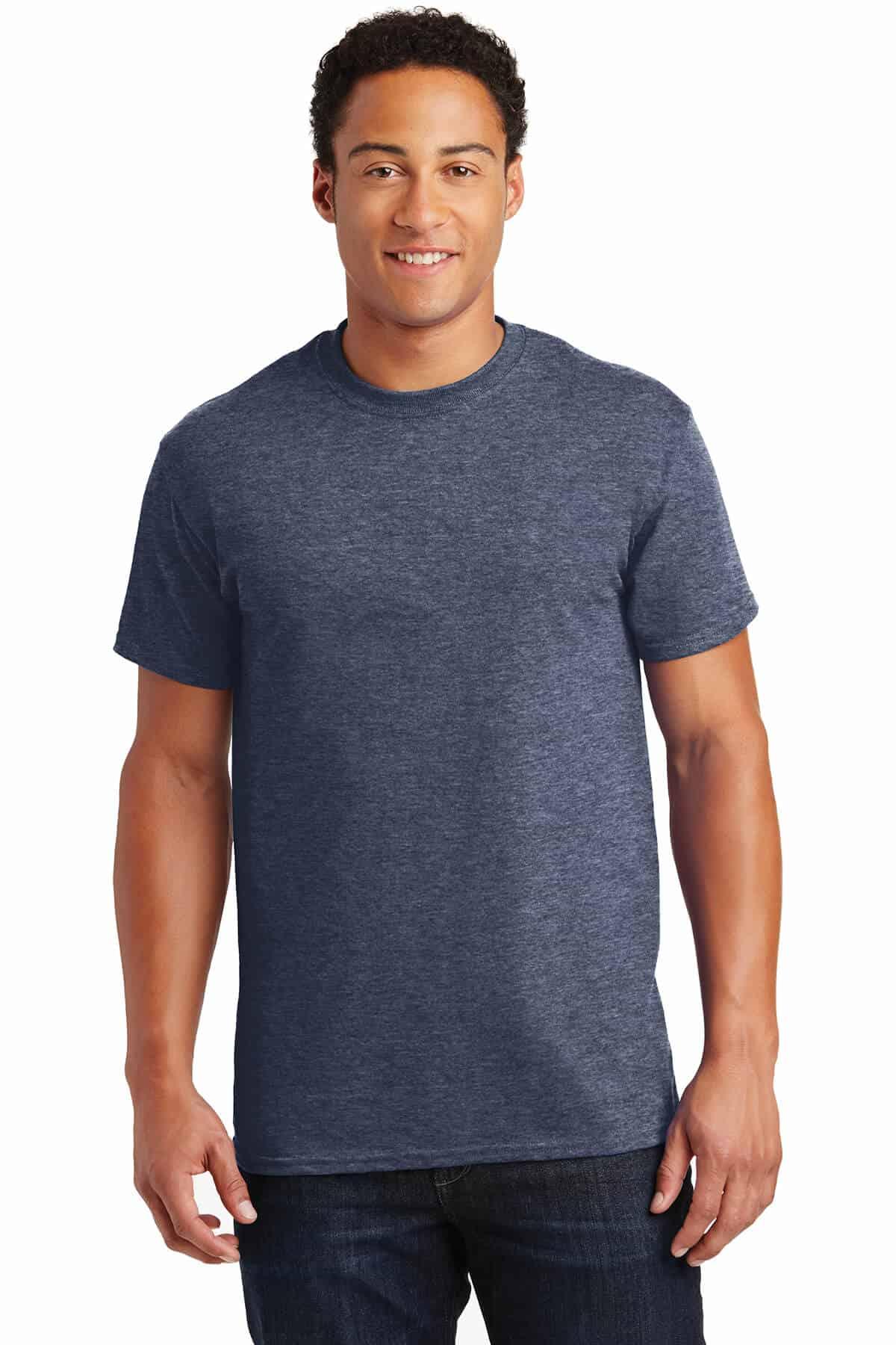 Heathered Navy TeeShirt Front