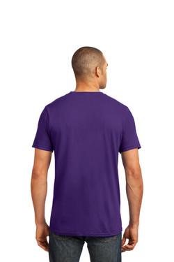 Purple Custom Tee Model Back