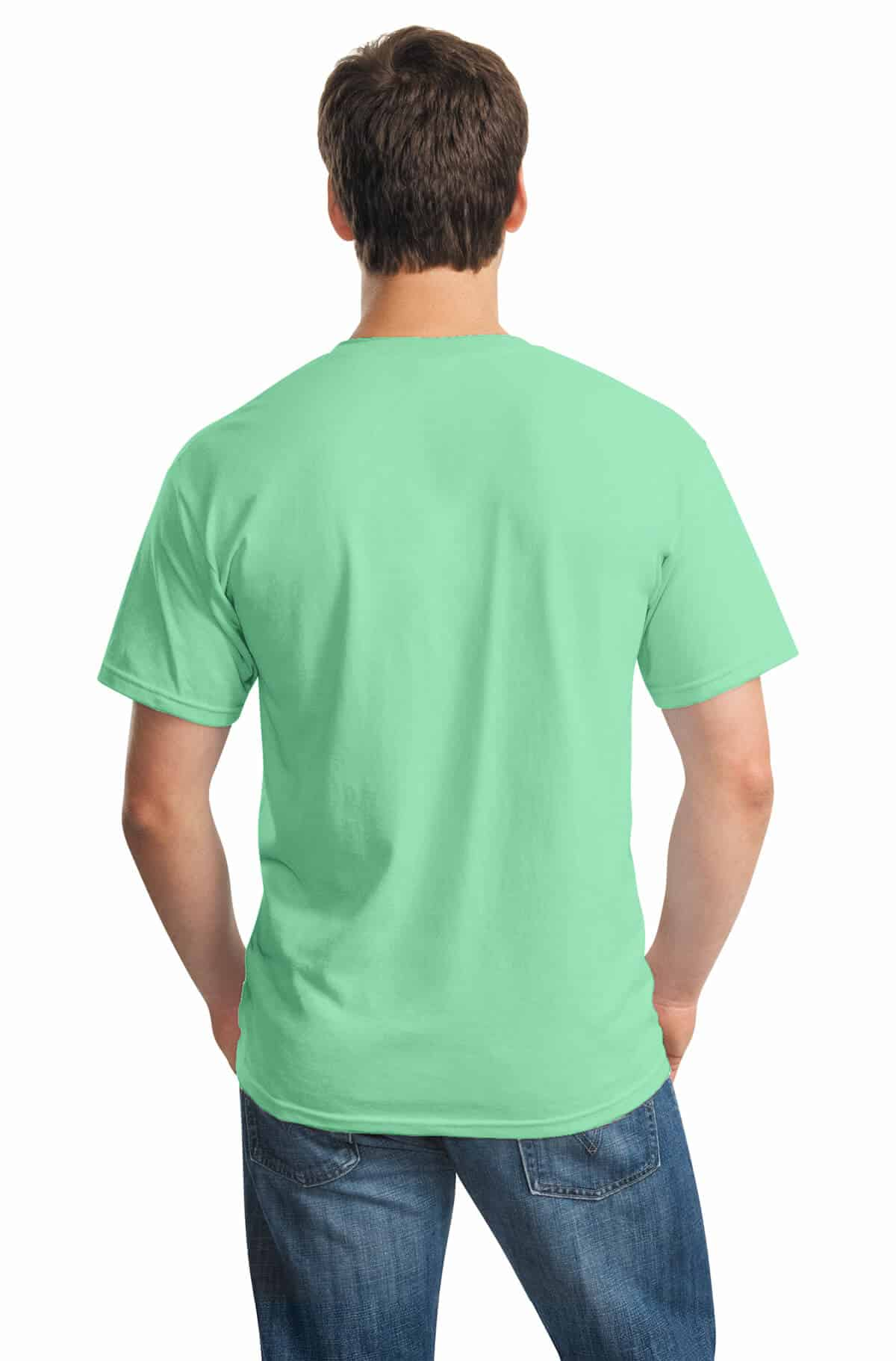 Mint Green Tee Back