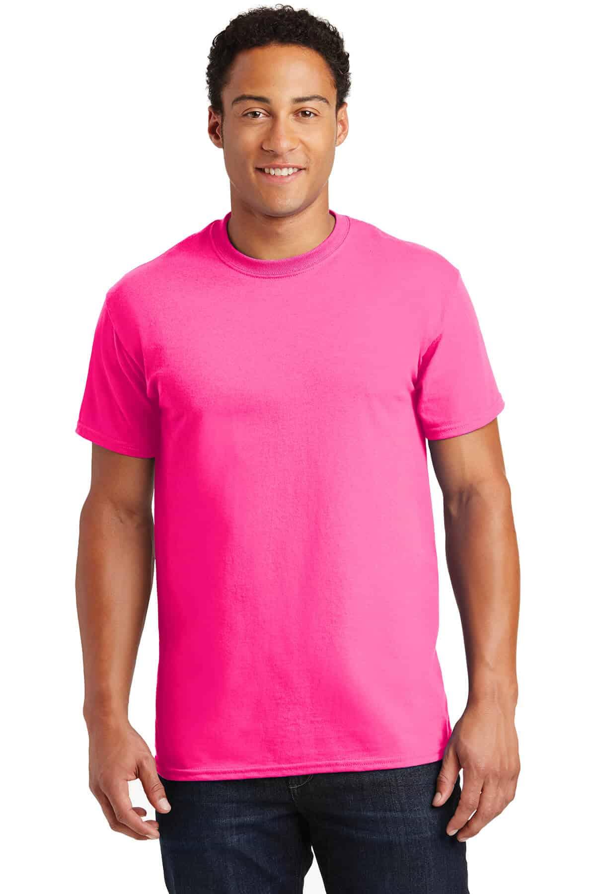 Safety Pink Teeshirt Front
