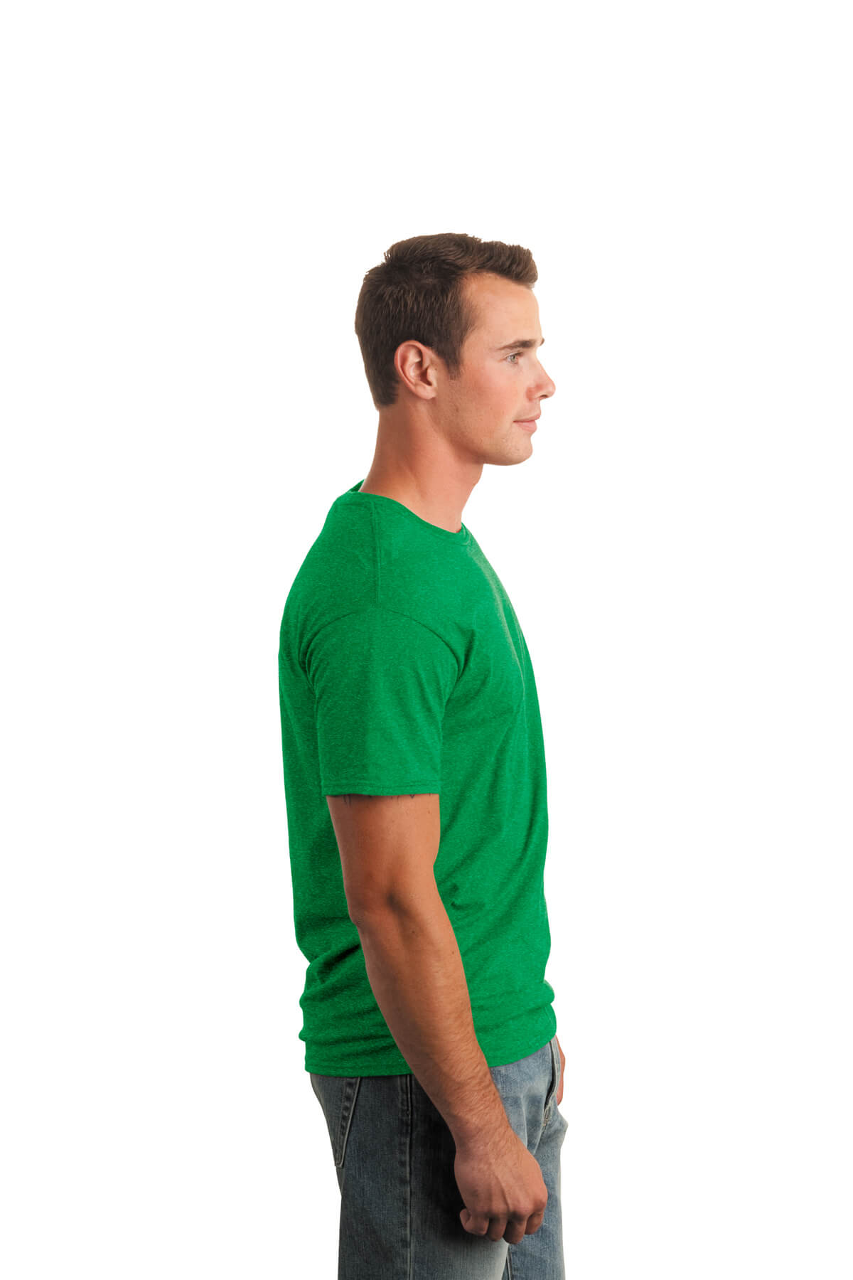 Irish Green T-Shirt Model Right