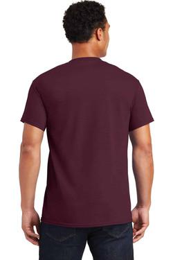 Maroon TeeShirt Back
