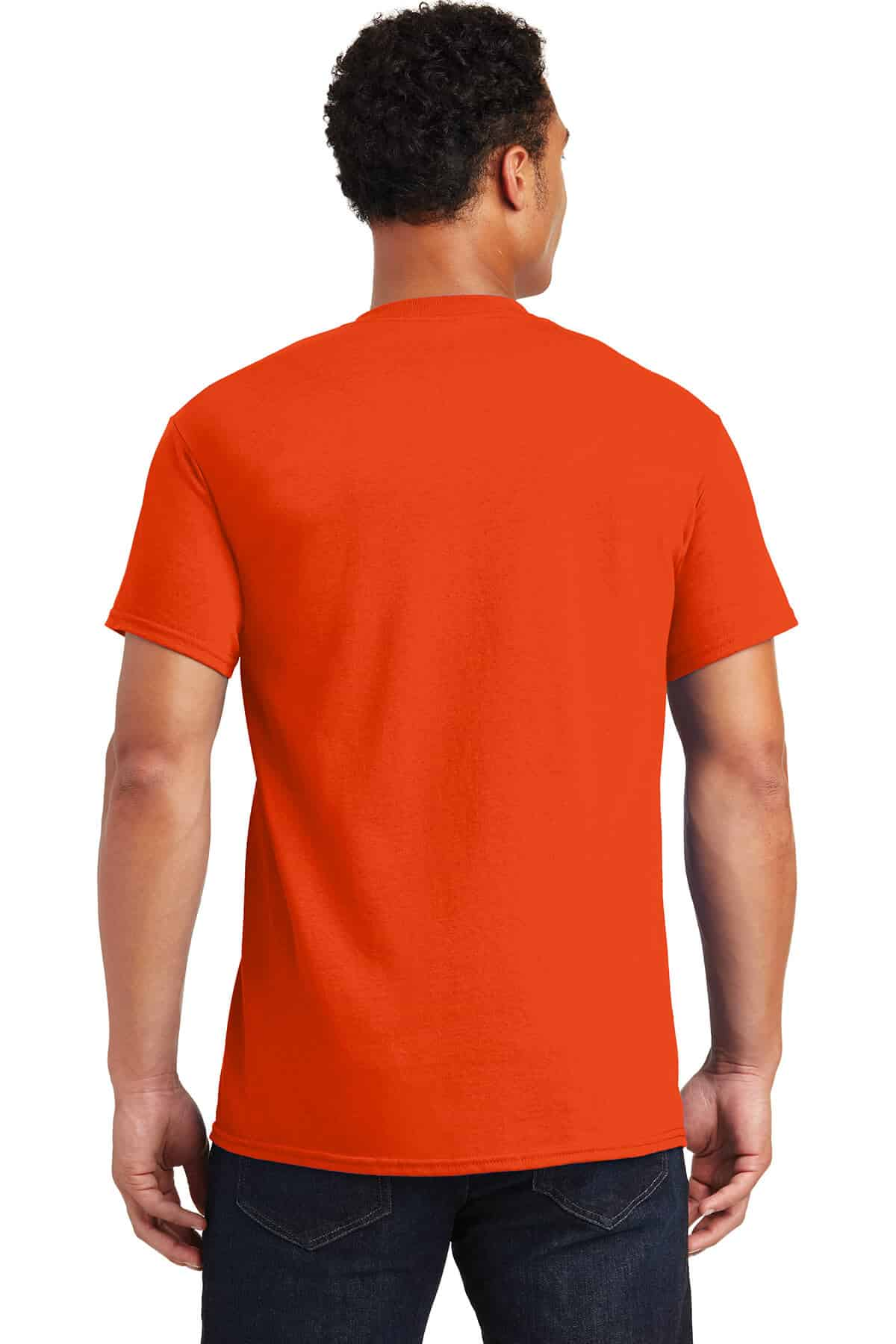 Orange TeeShirt Back