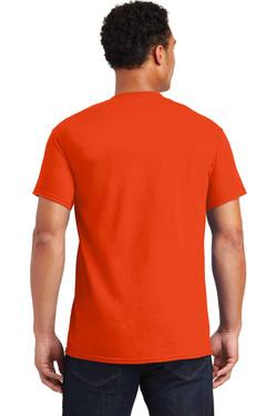 Orange TeeShirt Back